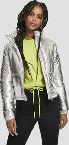 Urban Classics TB3245 - Ladies Metalic Puffer Jacket
