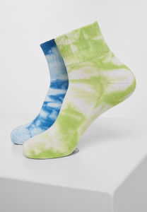 Urban Classics TB3304 - Tie Dye Socks Short 2-Pack