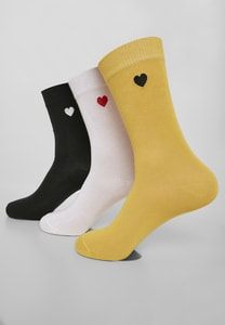Urban Classics TB3307 - Heart Socks 3-Pack