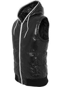Urban Classics TB332 - Hooded Bubble Vest