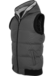 Urban Classics TB334 - Double Hooded Vest