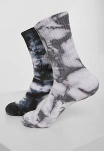 Urban Classics TB3391 - High Socks Tie Dye 2-Pack