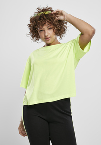 Urban Classics TB3412A - Ladies Short Oversized Neon Tee 2-Pack