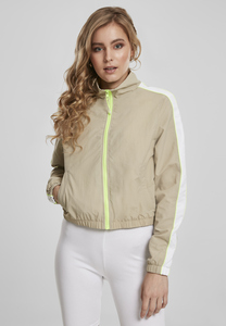 Urban Classics TB3414 - Giacca da donna Short Piped Track Jacket