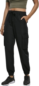 Urban Classics TB3434 - Ladies Viscose Twill Cargo Pants