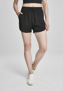 Urban Classics TB3436 - Damen-Viskose-Resort-Shorts