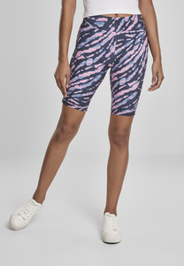 Urban Classics TB3442 - Ladies Tie Dye Cycling Shorts