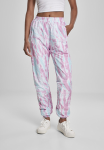 Urban Classics TB3446 - Ladies Tie Dye Track Pants