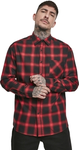 Urban Classics TB3482 - Oversized Checked Shirt