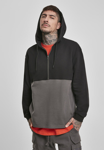 Urban Classics TB3494 - Relaxed Half Zip Hoodie