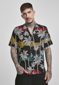 Urban Classics TB3510 - Palm Tree Resort Shirt