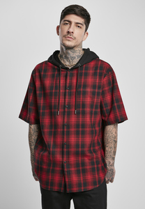 Urban Classics TB3514 - Hooded Short Sleeve Shirt