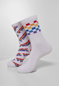 Urban Classics TB3606 - Pride Racing Socks 2-Pack