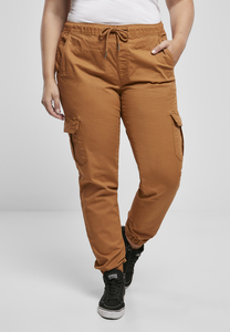 Urban Classics TB3626 - Ladies High Waist Cargo Jogging Pants