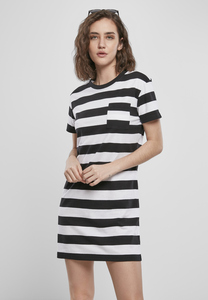 Urban Classics TB3637 - Ladies Stripe Boxy Tee Dress