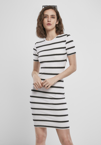 Urban Classics TB3652 - Ladies Stretch Stripe Dress