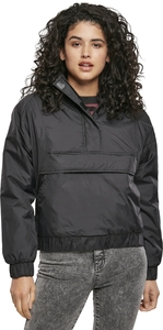 Urban Classics TB3659 - Ladies Panel Padded Pull Over Jacket
