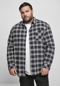 Urban Classics TB3685 - Oversized Check Shirt