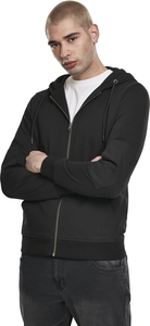 Urban Classics TB3702 - Fabric Mix Zip Hoody