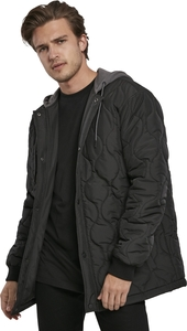 Urban Classics TB3704 - Quilted Hooded Jacket