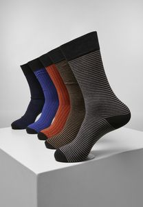 Urban Classics TB3744 - Stripes and Dots Socks 5-Pack