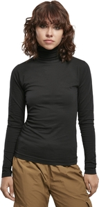 Urban Classics TB3757 - Ladies Basic Turtleneck L/S