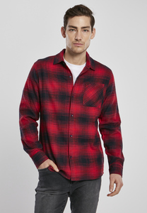 Urban Classics TB3799 - Oversized Checked Grunge Shirt