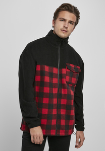 Urban Classics TB3802 - Patterned Polar Fleece Track Jacket