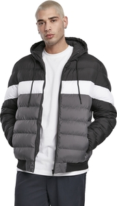Urban Classics TB3818 - Colorblock Bubble Jacket