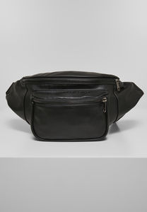 Urban Classics TB3859 - Imitation Leather Double Zip Shoulder Bag