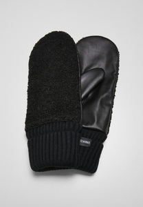 Urban Classics TB3872 - Sherpa Imitation Leather Gloves