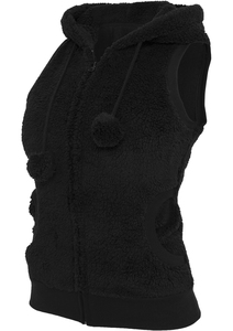 Urban Classics TB393 - Ladies Teddy Vest