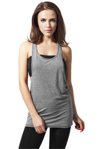 Urban Classics TB456 - Dames Losse Burnout Tanktop