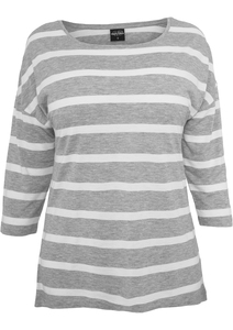 Urban Classics TB460 - Ladies Loose Striped Tee