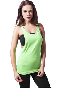 Urban Classics TB462 - Ladies Loose Neon Tanktop