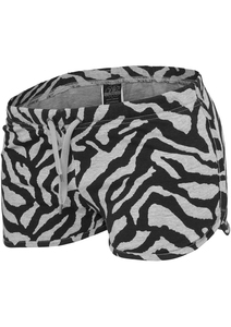 Urban Classics TB470 - Ladies Zebra Hotpants