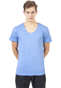 Urban Classics TB478 - Spray Dye V-Neck Tee