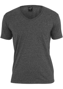 Urban Classics TB484 - Melange V-Neck Pocket Tee