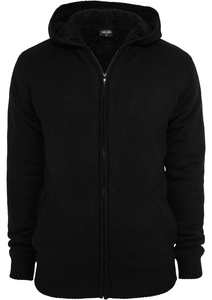 Urban Classics TB556 - Knitted Winter Zip Hoody