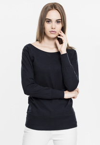 Urban Classics TB607 - Ladies Wideneck Crewneck