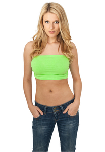 Urban Classics TB622 - Ladies Neon Bandeau Top