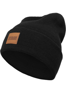 Urban Classics TB626 - Leatherpatch Long Beanie