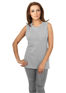 Urban Classics TB702 - Ladies Sleeveless Pocket Tee