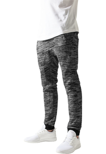 Urban Classics TB840 - Fitted Terry Melange Sweatpants
