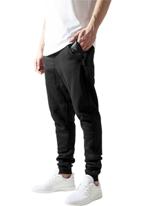 Urban Classics TB849 - Side Zip Leather Pocket Sweatpant
