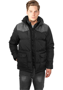 Urban Classics TB891 - Material Mixed Winter Jacket