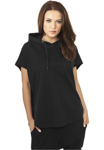 Urban Classics TB931 - Dames Mouwloze Terry Hoodie