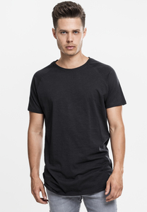 Urban Classics TB968 - Long Shaped Slub Raglan Tee