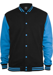Urban Classics UK021 - Kids 2-tone College Sweatjacket