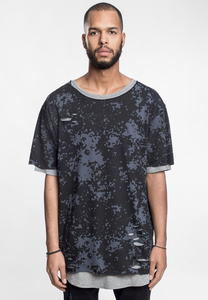 CS CS1640 - CSBL Deuces Long Layer Tee